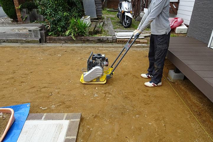 神戸市西区H様邸の施工中の様子7