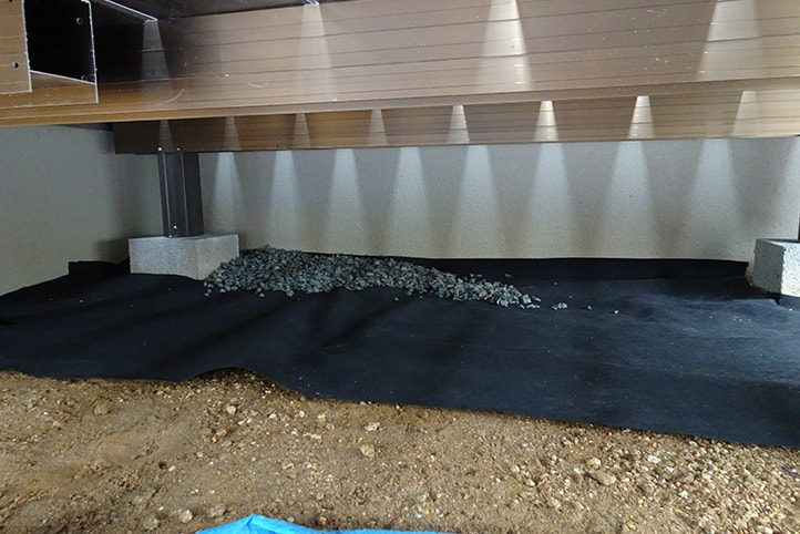 神戸市西区H様邸の施工中の様子11