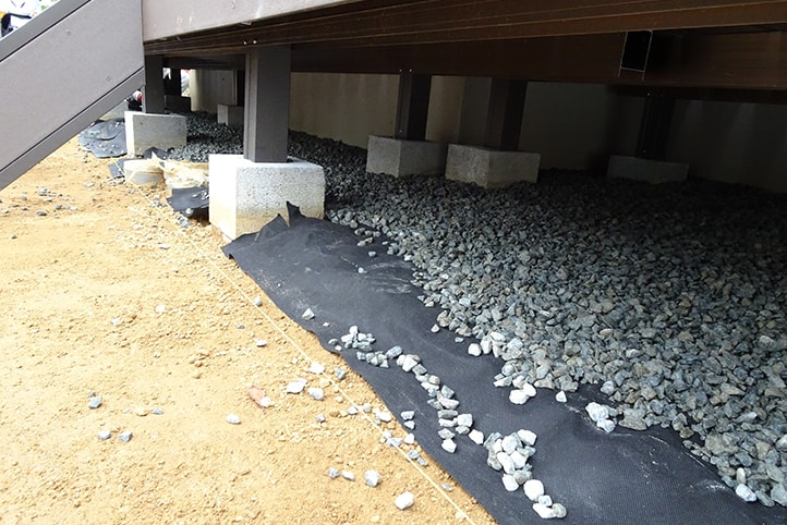 神戸市西区H様邸の施工中の様子14