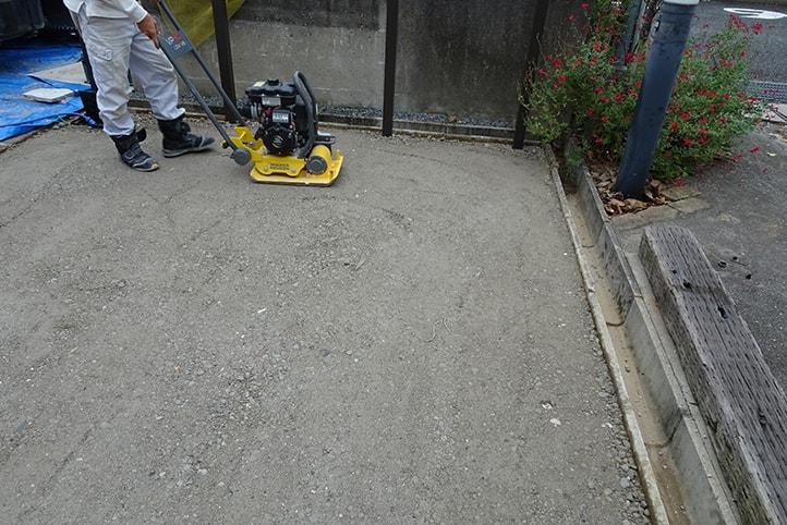 神戸市西区H様邸の施工中の様子17