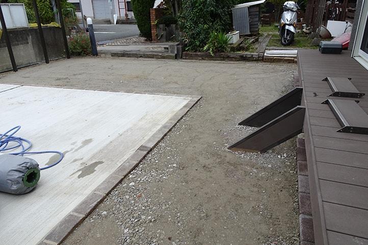神戸市西区H様邸の施工中の様子22