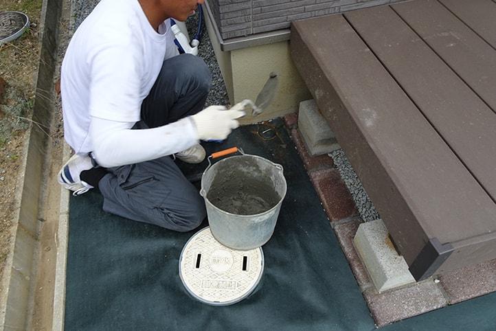 神戸市西区H様邸の施工中の様子26