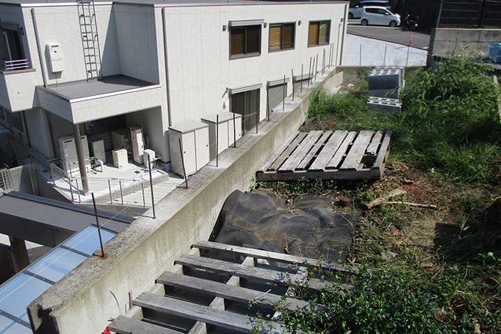 神戸市垂水区 S様邸の施工中の様子28