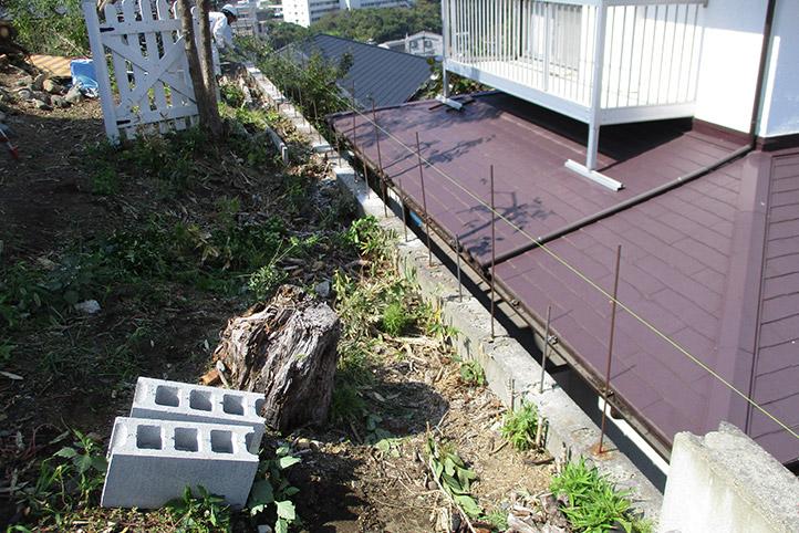 神戸市垂水区 S様邸の施工中の様子29
