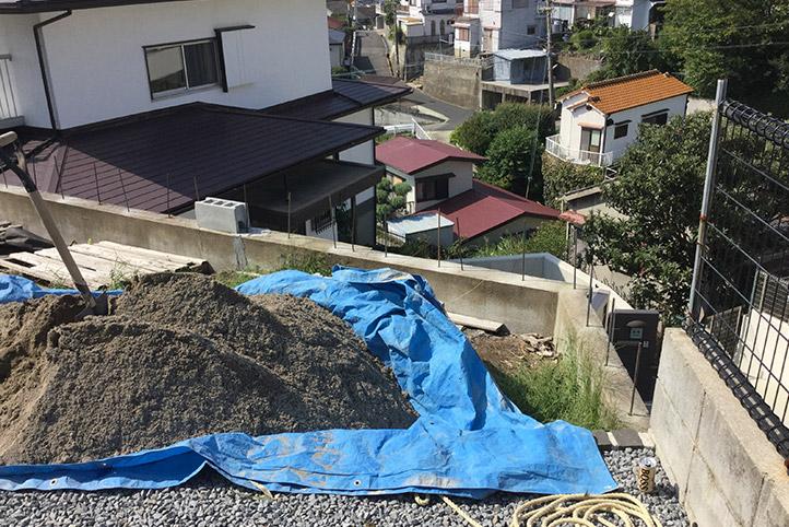 神戸市垂水区 S様邸の施工中の様子32