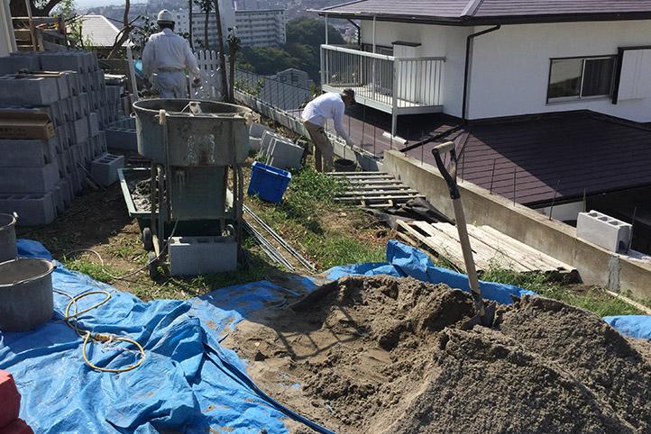 神戸市垂水区 S様邸の施工中の様子33