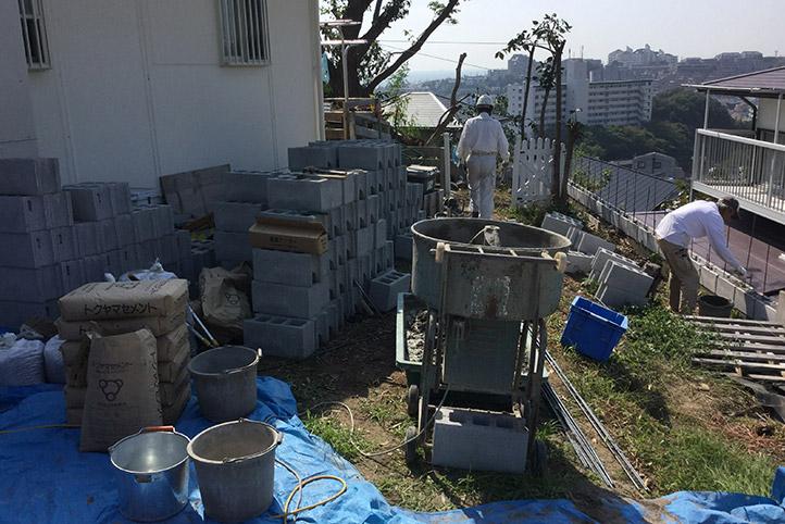 神戸市垂水区 S様邸の施工中の様子34