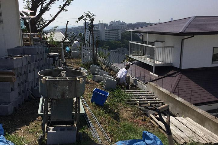 神戸市垂水区 S様邸の施工中の様子36