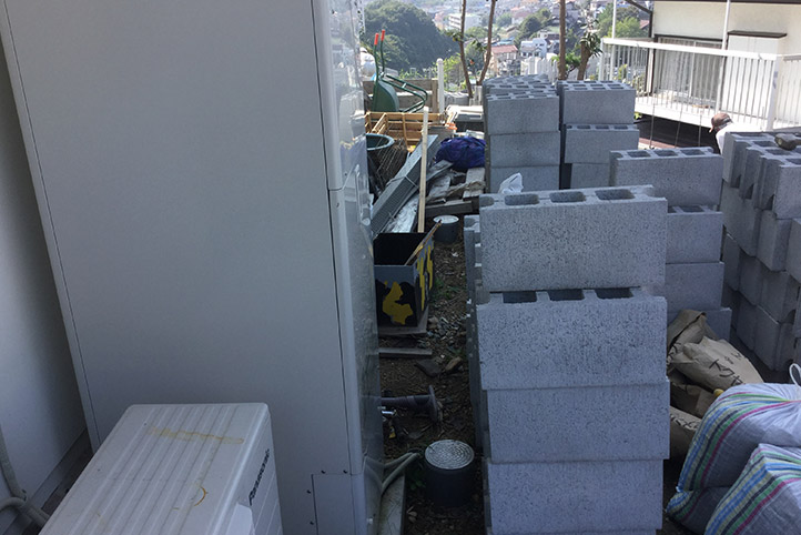 神戸市垂水区 S様邸の施工中の様子38