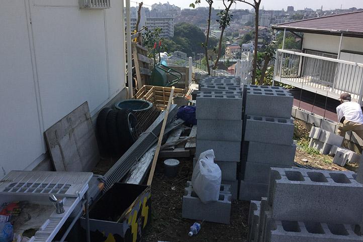 神戸市垂水区 S様邸の施工中の様子39