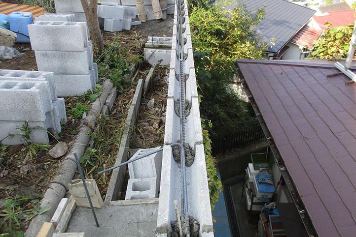 神戸市垂水区 S様邸の施工中の様子41