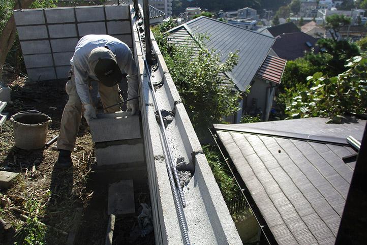 神戸市垂水区 S様邸の施工中の様子44