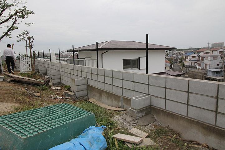 神戸市垂水区 S様邸の施工中の様子46
