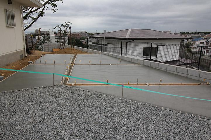 神戸市垂水区 S様邸の施工中の様子51