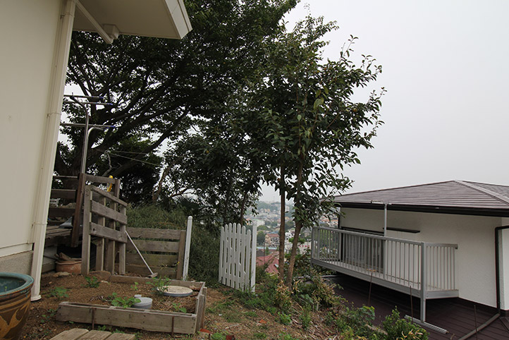 神戸市垂水区 S様邸の施工中の様子2