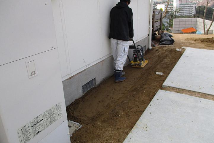 神戸市垂水区 S様邸の施工中の様子61
