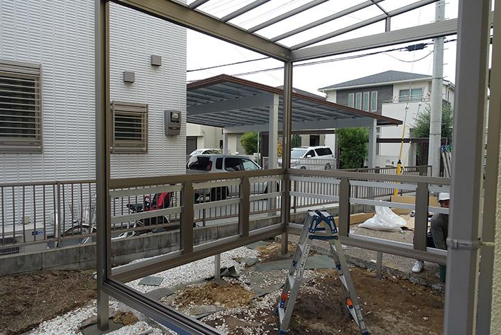 神戸市西区G様邸の施工中の様子14