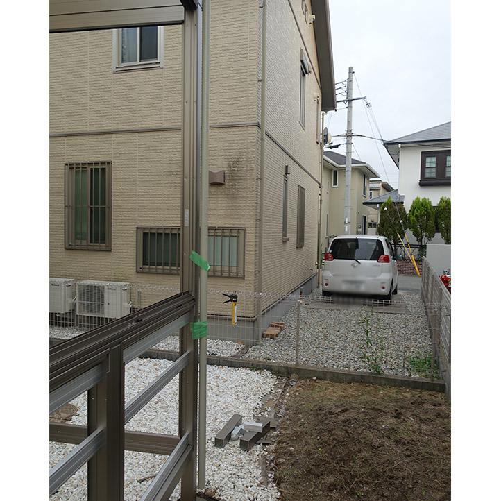 神戸市西区G様邸の施工中の様子17