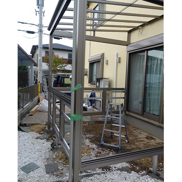 神戸市西区G様邸の施工中の様子18