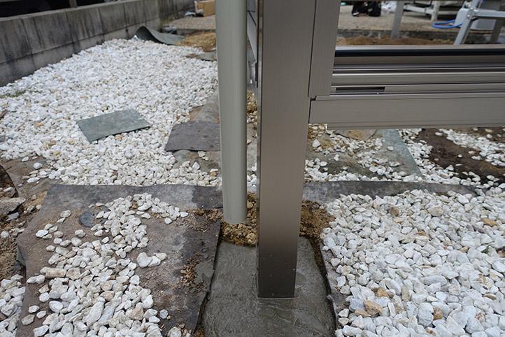 神戸市西区G様邸の施工中の様子19
