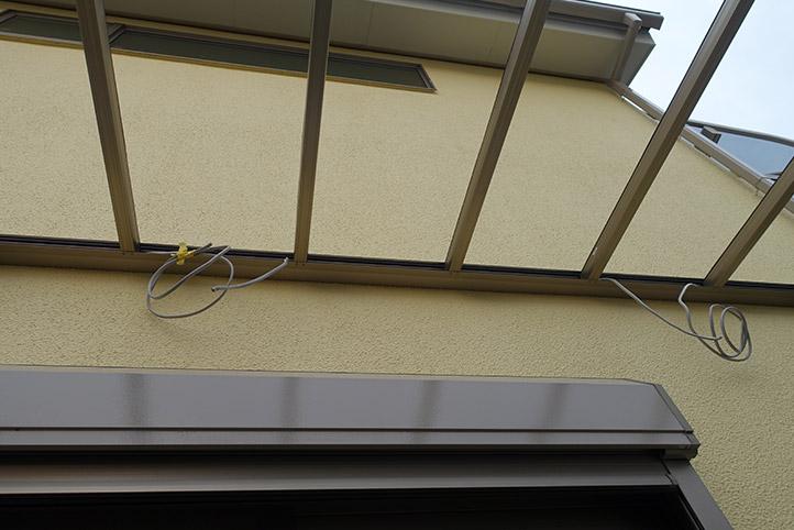 神戸市西区G様邸の施工中の様子21