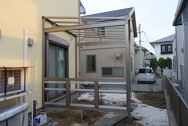 神戸市西区G様邸の施工中の様子24