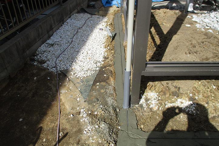 神戸市西区G様邸の施工中の様子27