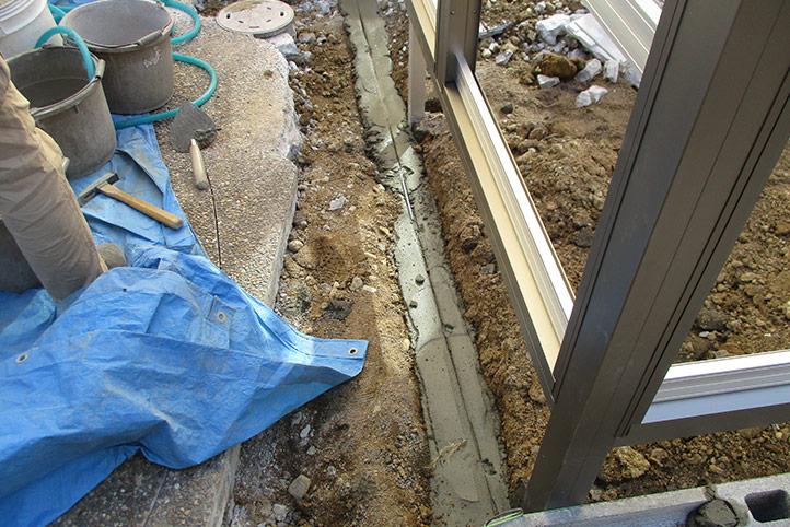 神戸市西区G様邸の施工中の様子28