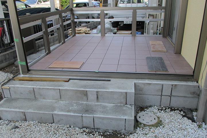 神戸市西区G様邸の施工中の様子29