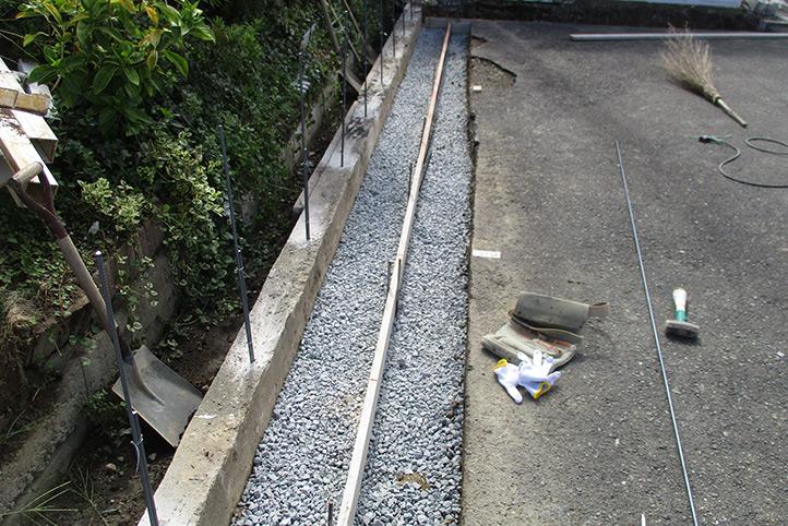神戸市西区K様 施工中の様子13