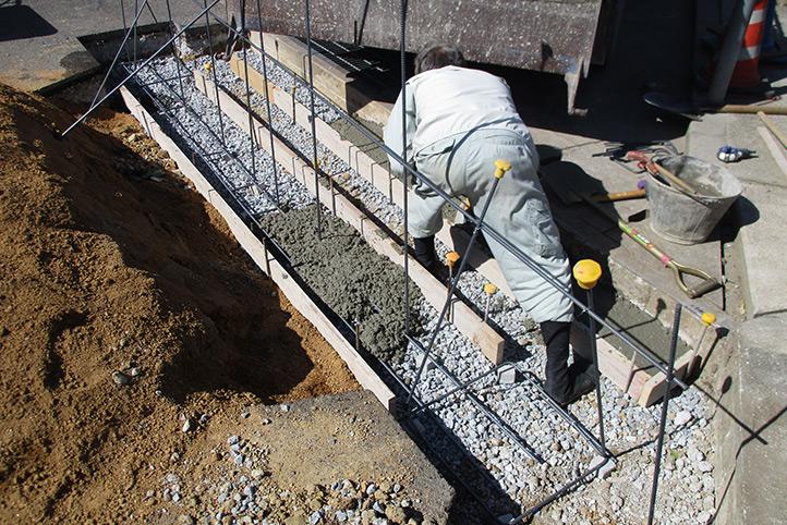 神戸市西区K様 施工中の様子14