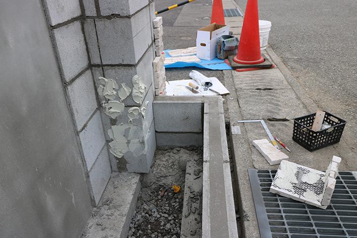 神戸市西区K様 施工中の様子43