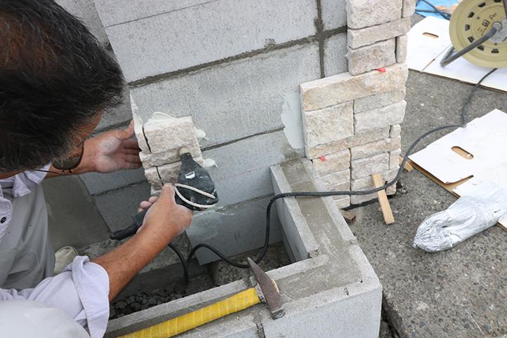 神戸市西区K様 施工中の様子46