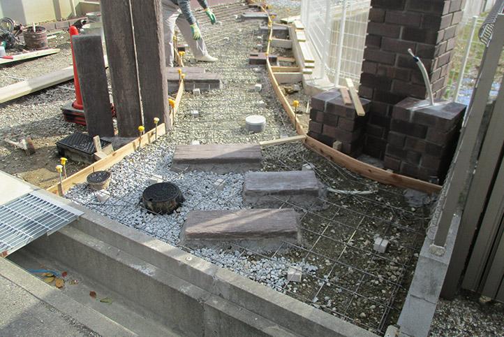 神戸市西区H様邸の施工中の様子33