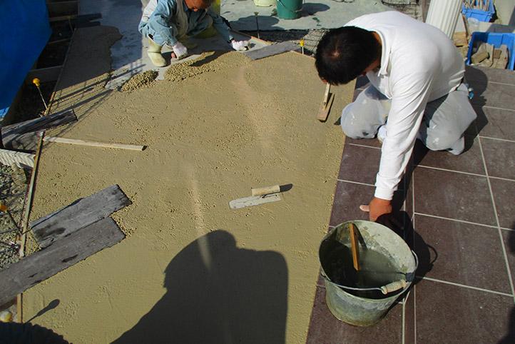 神戸市西区H様邸の施工中の様子38