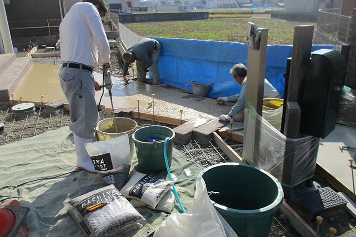 神戸市西区H様邸の施工中の様子39