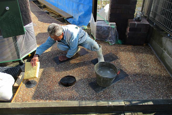 神戸市西区H様邸の施工中の様子43