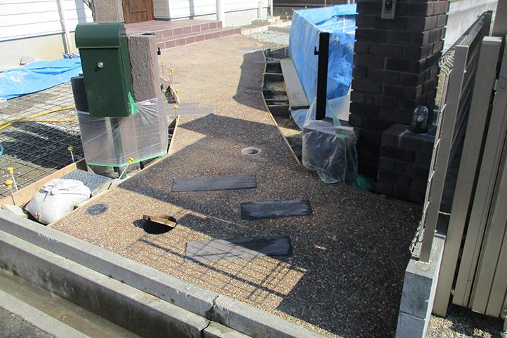 神戸市西区H様邸の施工中の様子44