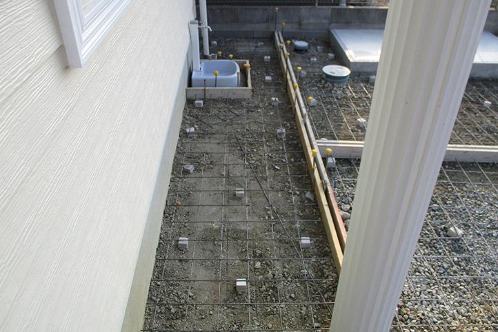 神戸市西区H様邸の施工中の様子45