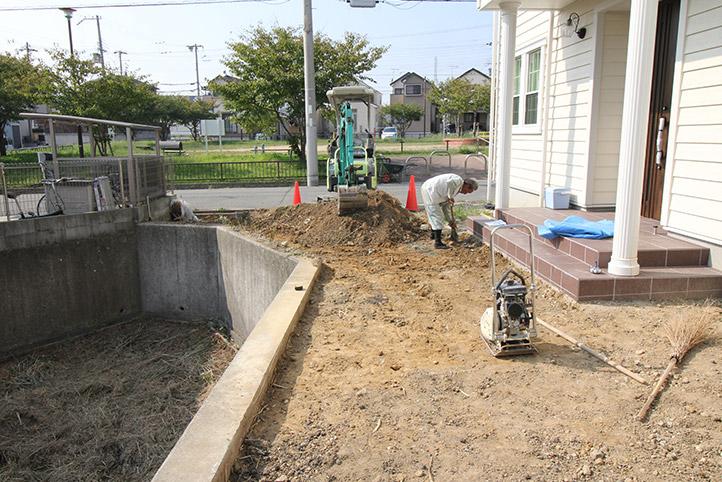 神戸市西区H様邸の施工中の様子56