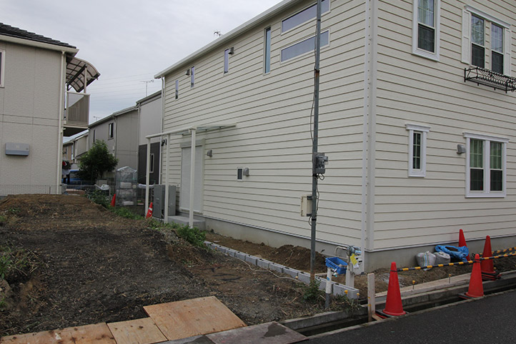 神戸市西区H様邸の施工中の様子60
