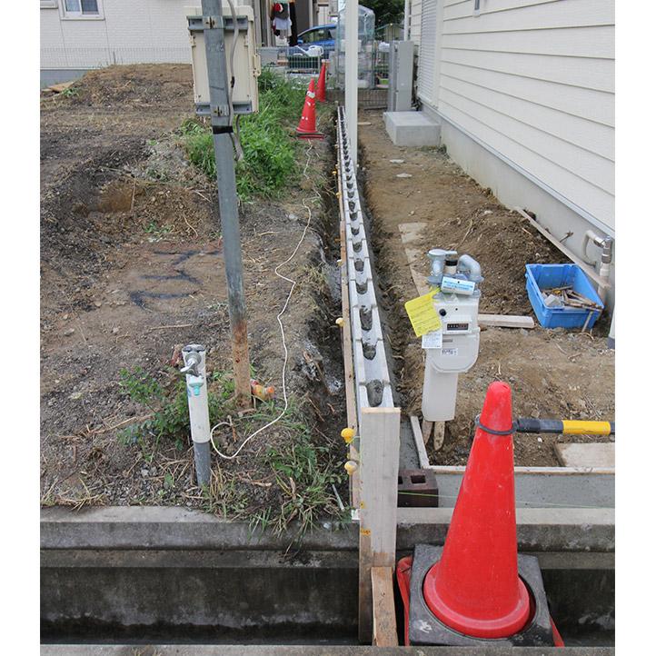 神戸市西区H様邸の施工中の様子61