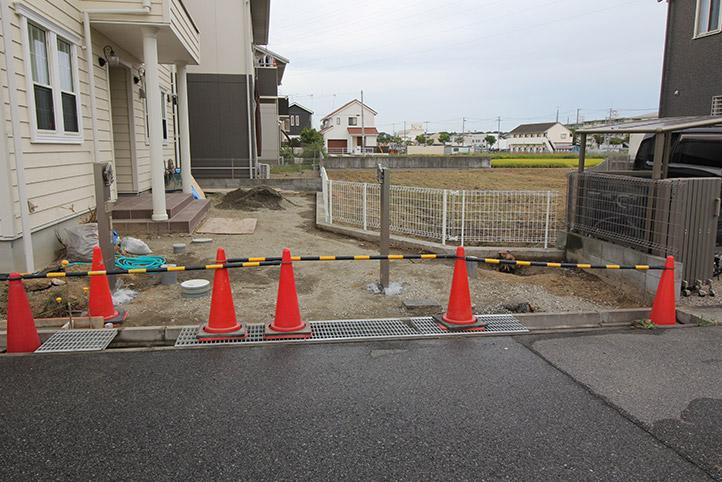神戸市西区H様邸の施工中の様子63