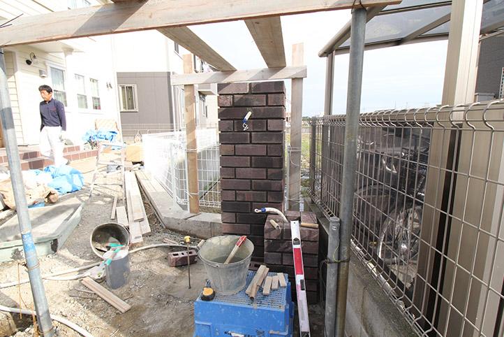 神戸市西区H様邸の施工中の様子64