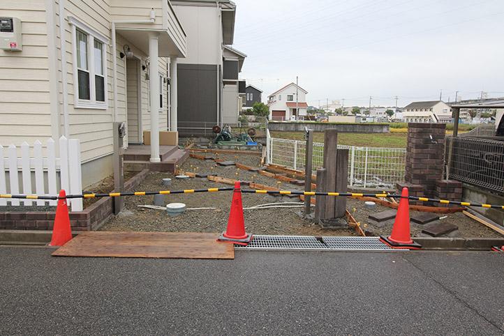 神戸市西区H様邸の施工中の様子72