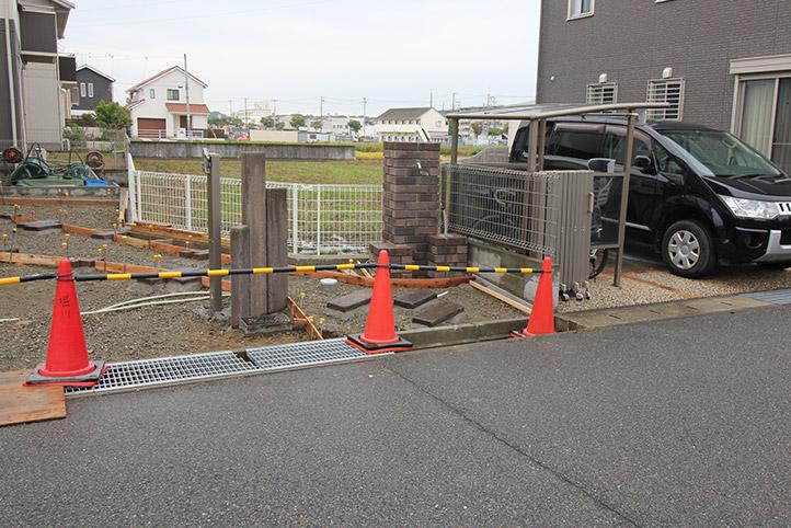 神戸市西区H様邸の施工中の様子73
