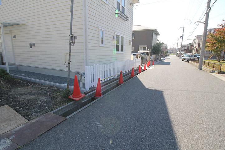 神戸市西区H様邸の施工中の様子77