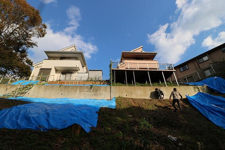 神戸市西区S様邸の施工前・施工中の様子23