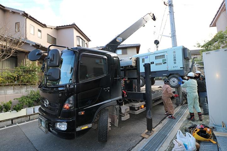 神戸市西区S様邸の施工前・施工中の様子29