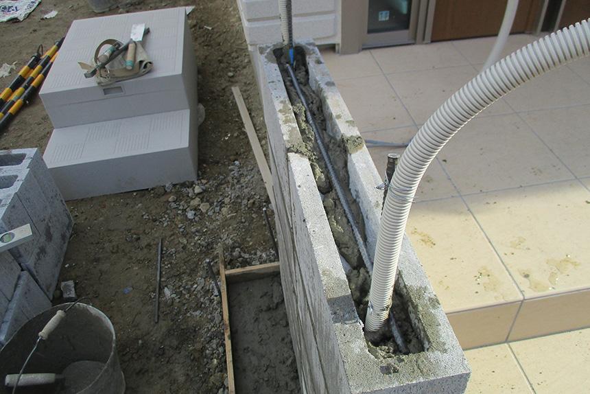 神戸市垂水区 S様邸の施工中の様子4